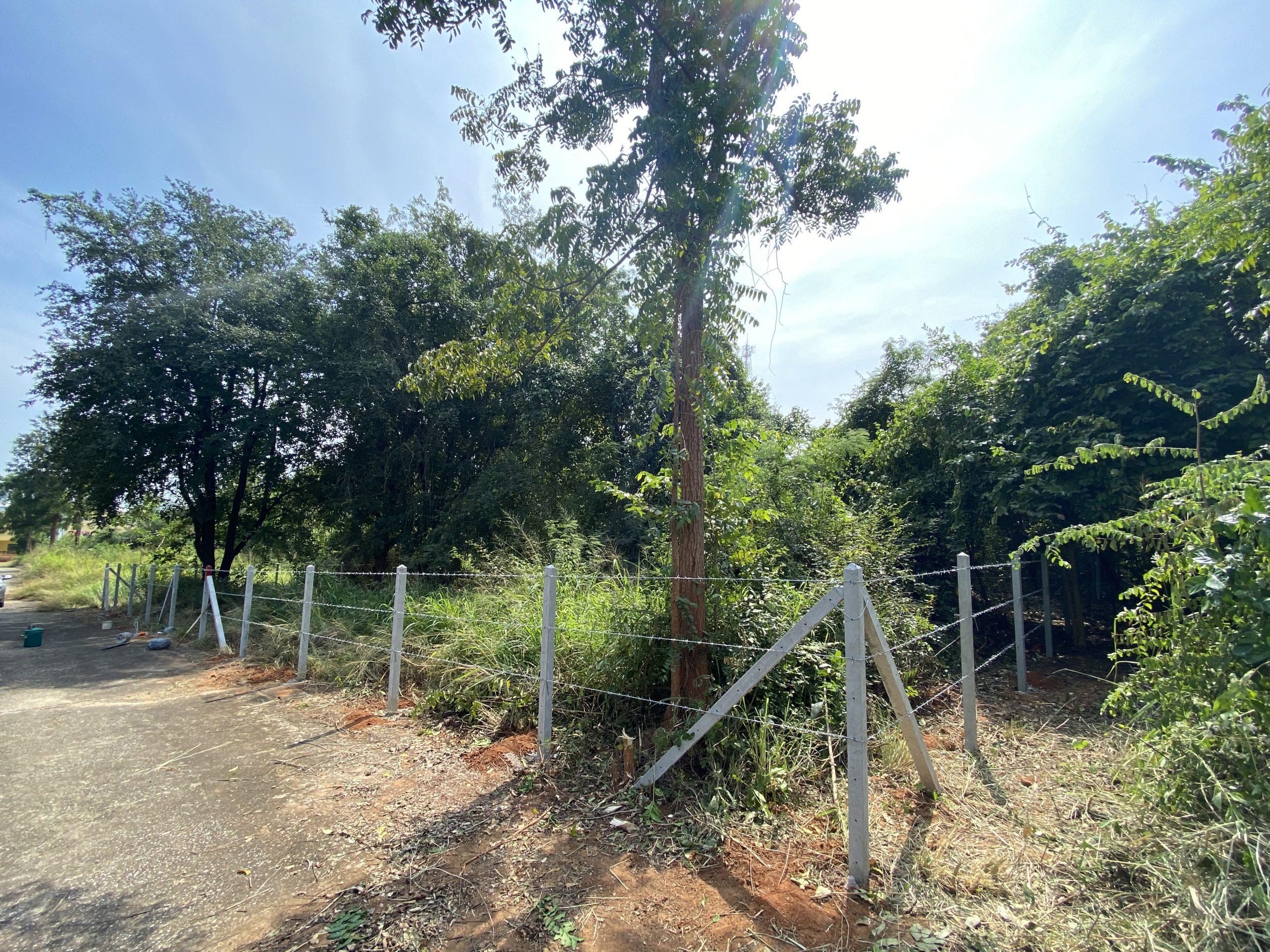 ขายที่ดินเปล่ารวม2โฉนดใกล้โรงพบาบาลสัตว์เพ็ทไทม์เนื้อที่ 120.2ตารางวา